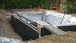 Swimmingpool im ruhrgebiet pool in wenigen tagen komplett installiert - Pool anlegen ...